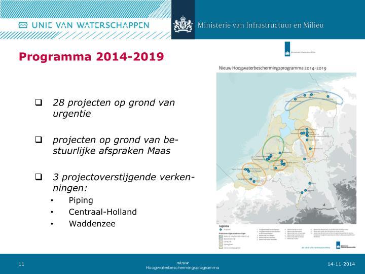 Programma 2014-2019