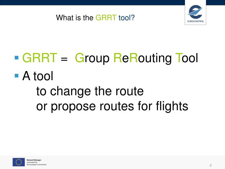 What is the grrt tool