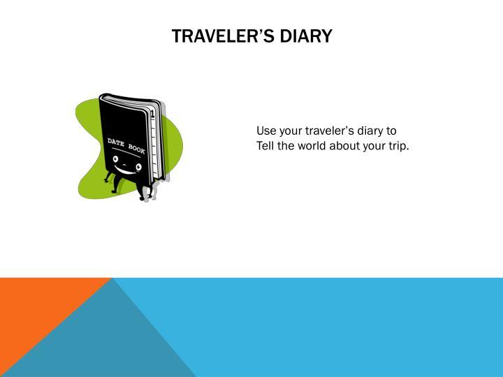 Traveler s diary