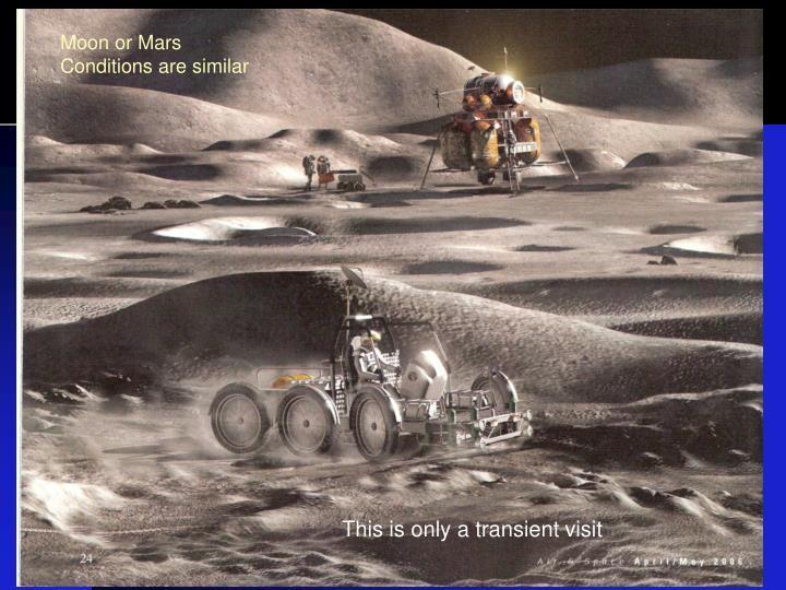 Moon or Mars