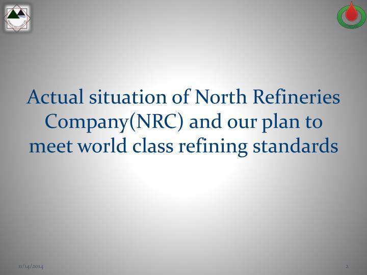 Abdulghafoor m abduljabbar north refineries company s director general iraqi ministry of oil