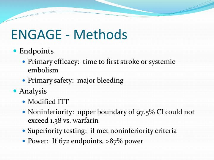 ENGAGE - Methods