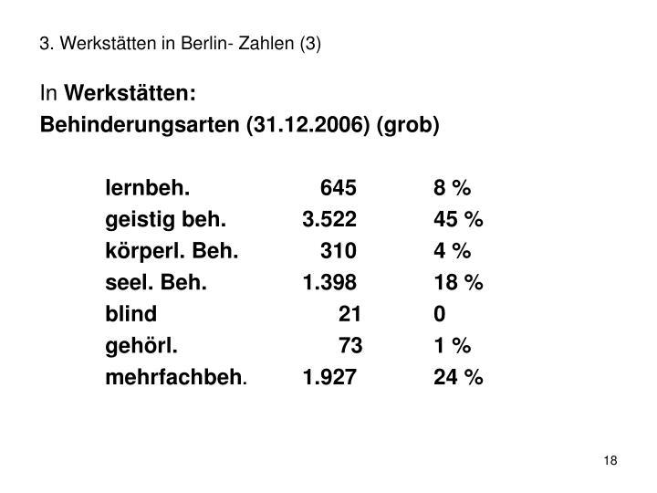 3. Werkstätten in Berlin- Zahlen (3)