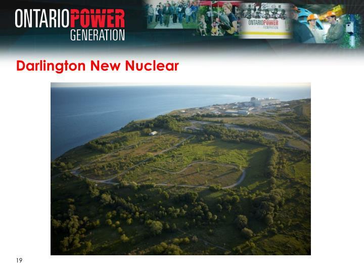 Darlington New Nuclear