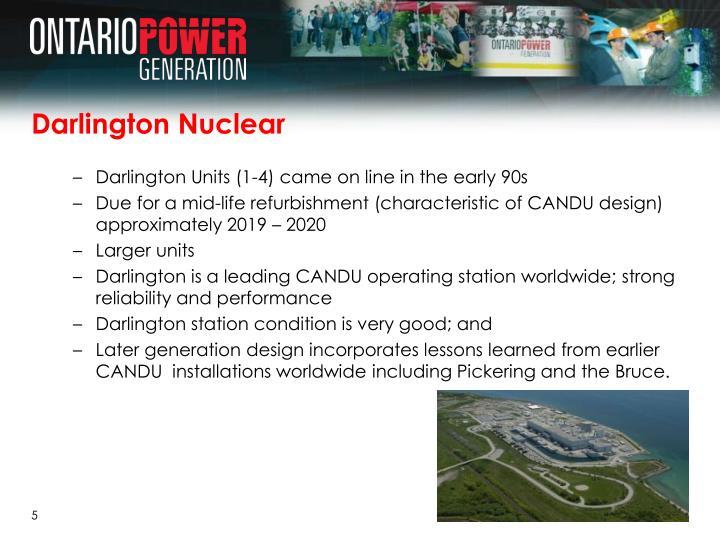 Darlington Nuclear