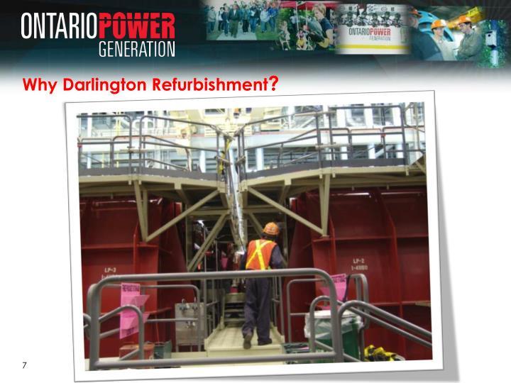 Why Darlington Refurbishment