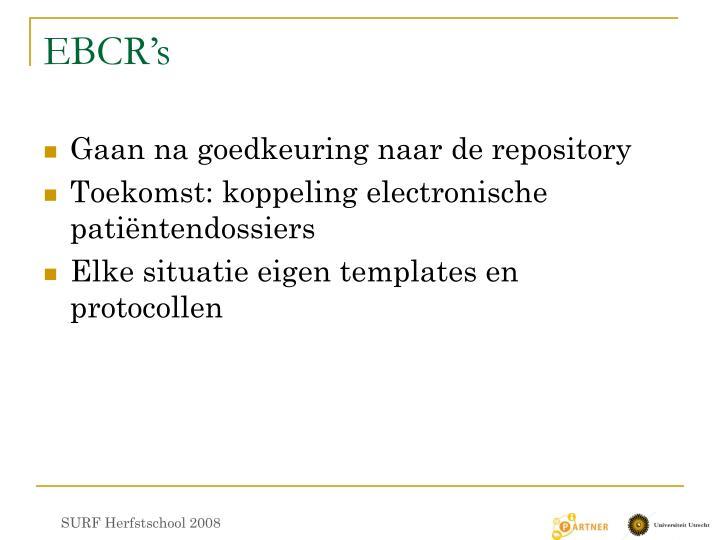 EBCR's