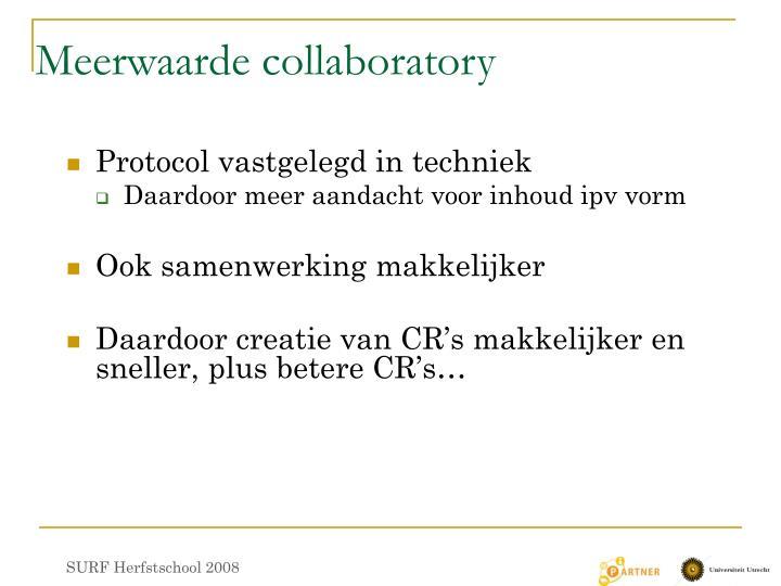 Meerwaarde collaboratory