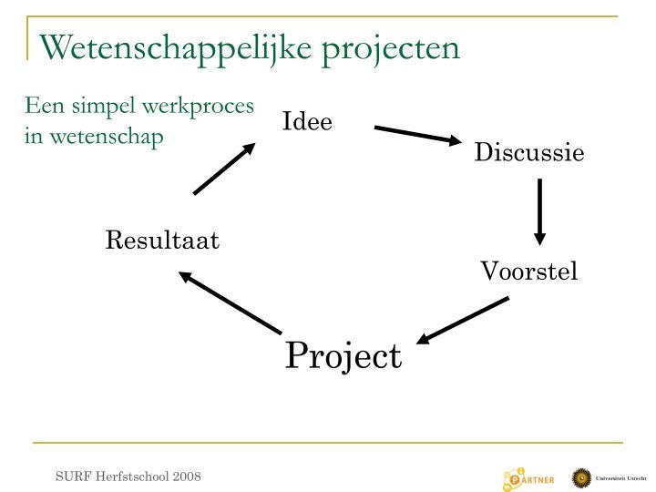 Wetenschappelijke projecten