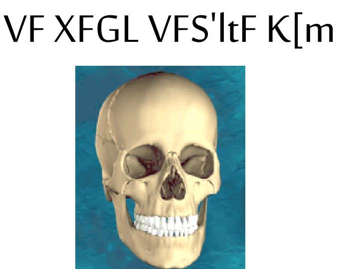 VF XFGL VFS'ltF K[m