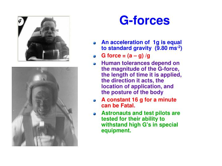 G-forces