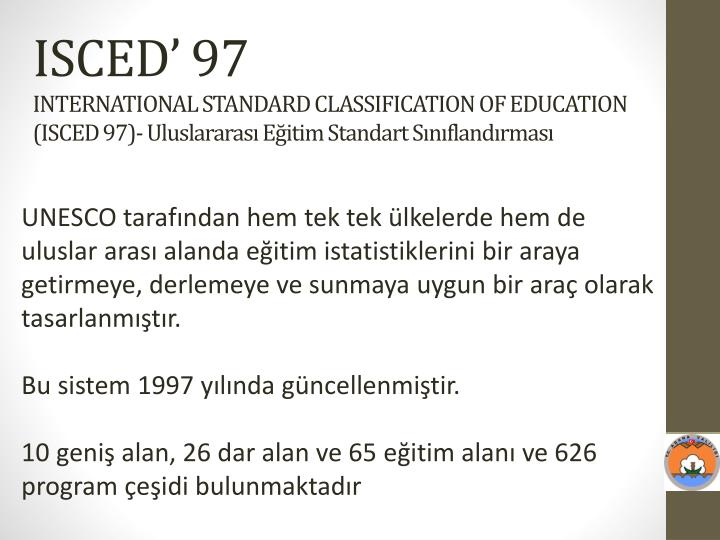 ISCED' 97