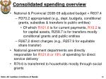 consolidated spending overview4