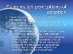 guatemalan perceptions of adoption