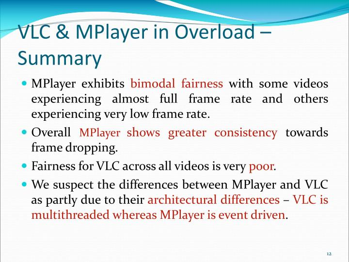 VLC & MPlayer in Overload –