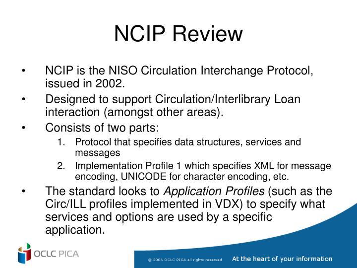 Ncip review