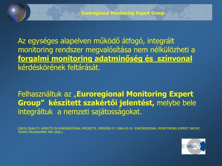 Euroregional monitoring expert group