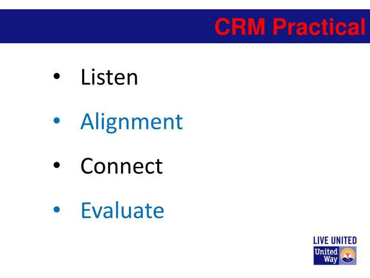 CRM Practical