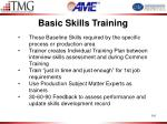 basic skills training