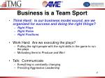 business is a team sport1
