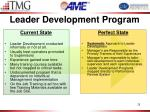 leader development program
