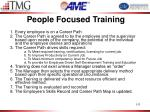 people focused training