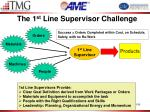 the 1 st line supervisor challenge