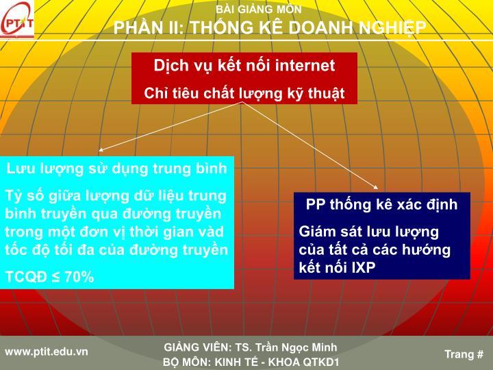 Dịch vụ kết nối internet
