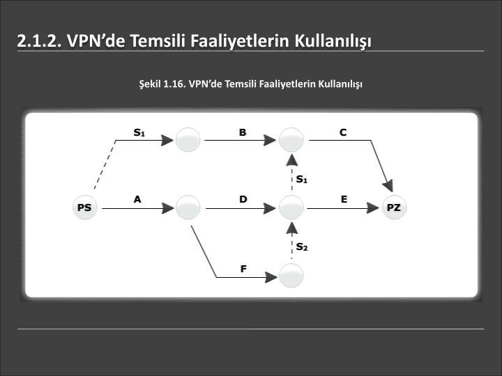 2.1.2. VPN'de Temsili Faaliyetlerin Kullanılışı