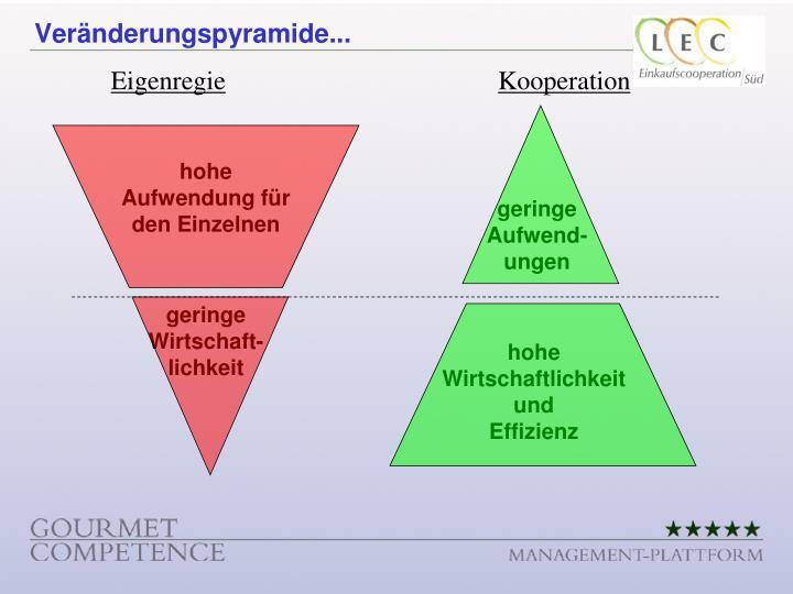 Veränderungspyramide...