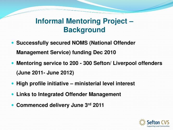 Informal Mentoring Project –