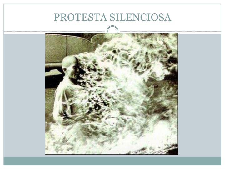 PROTESTA SILENCIOSA