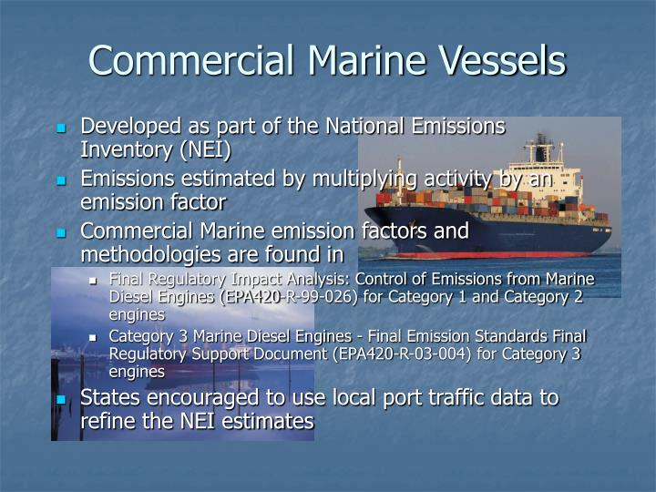 Commercial Marine Vessels