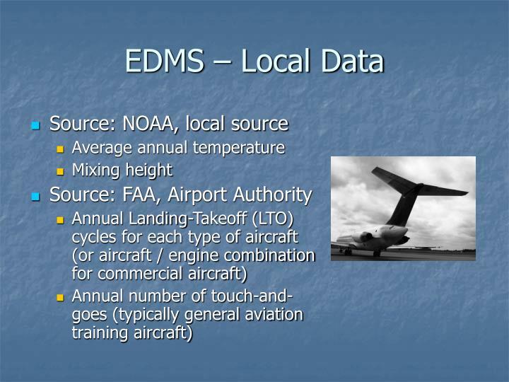 EDMS – Local Data