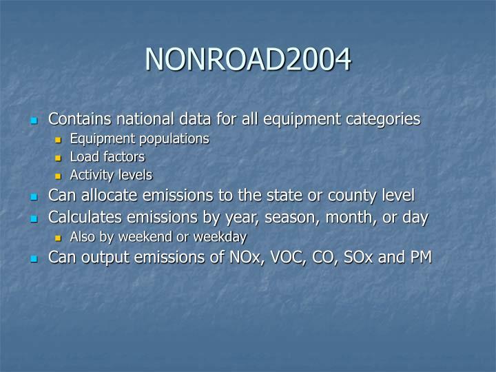NONROAD2004