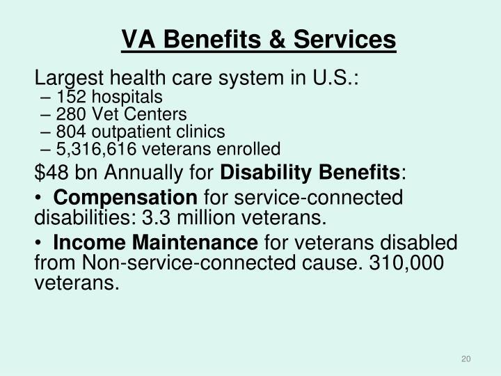 VA Benefits & Services