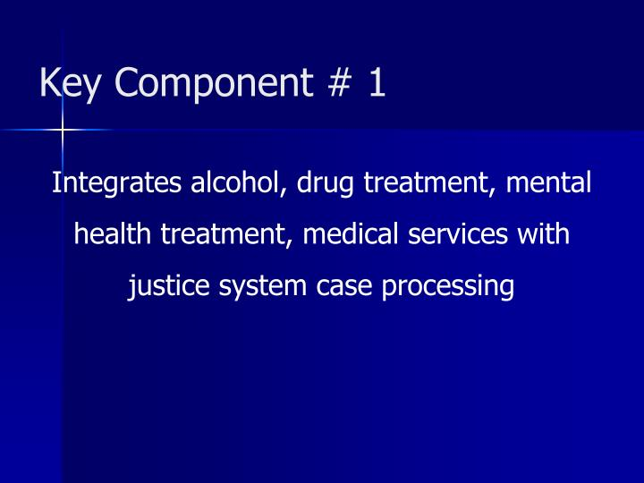Key Component # 1