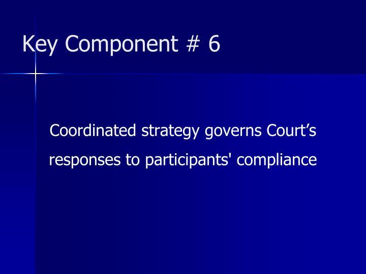 Key Component # 6