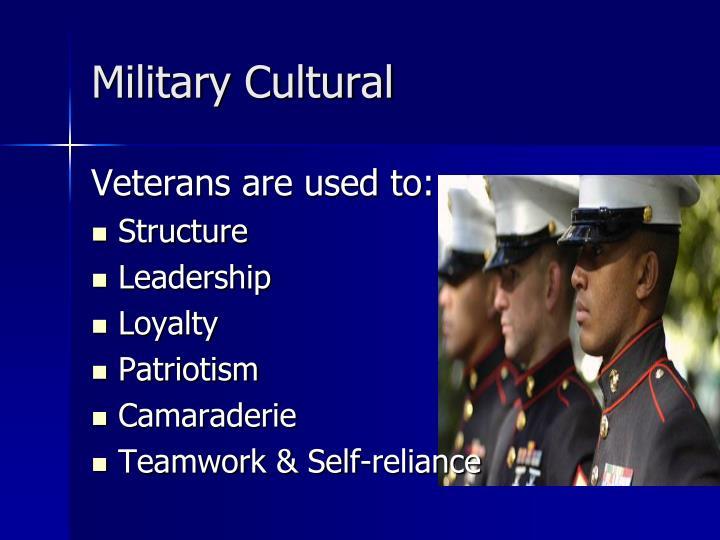 Military Cultural