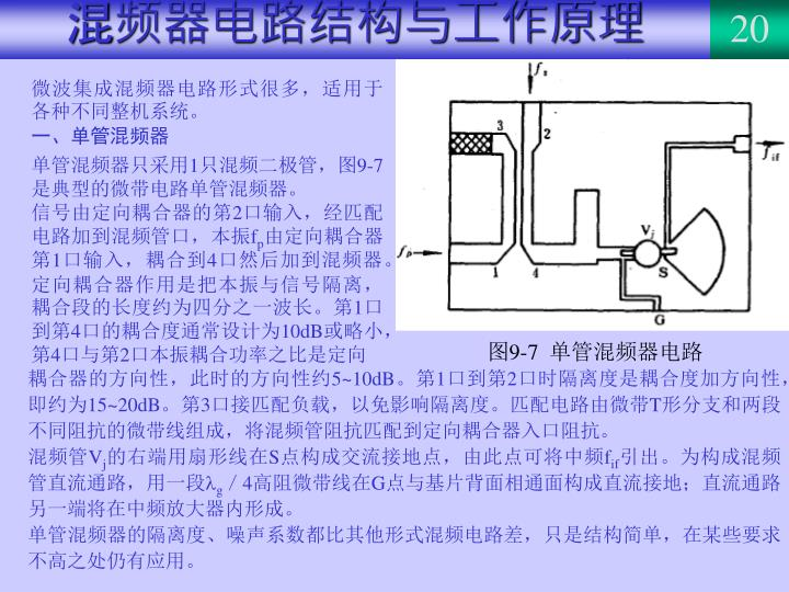混频器电路结构与工作原理