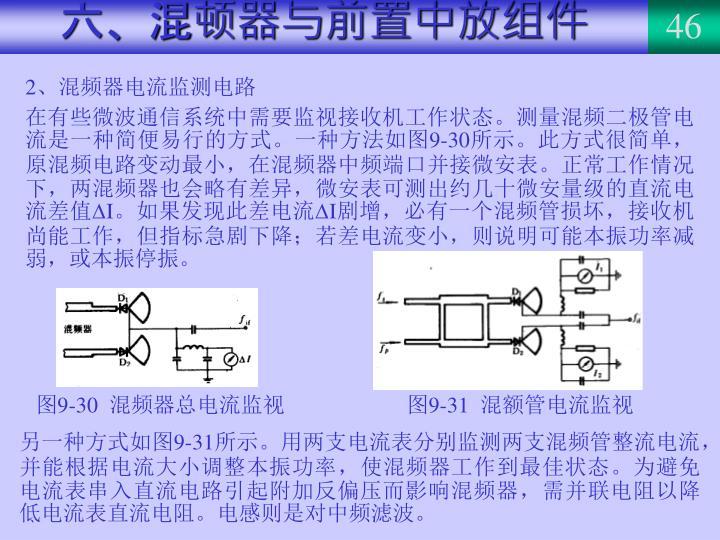 六、混顿器与前置中放组件