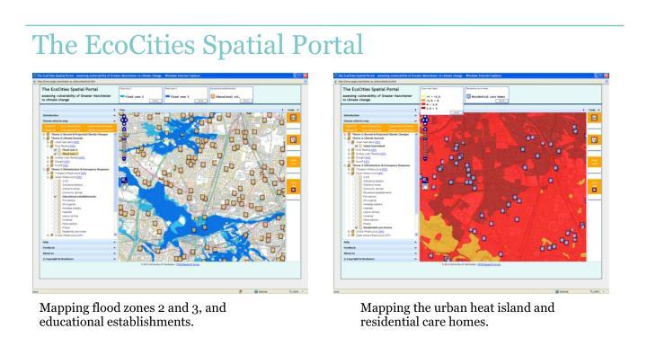 The EcoCities Spatial Portal