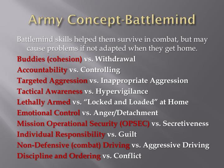 Army Concept-
