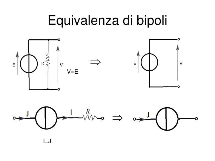 Equivalenza di bipoli