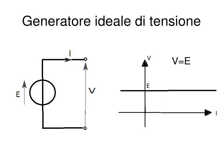 Generatore ideale di tensione