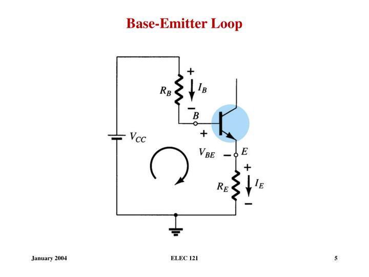 Base-Emitter Loop