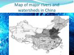 map of major rivers and watersheds in china
