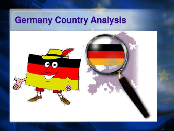 Germany Country Analysis