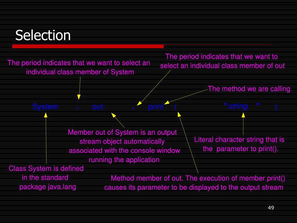 PPT - Java basics PowerPoint Presentation - ID:6611196