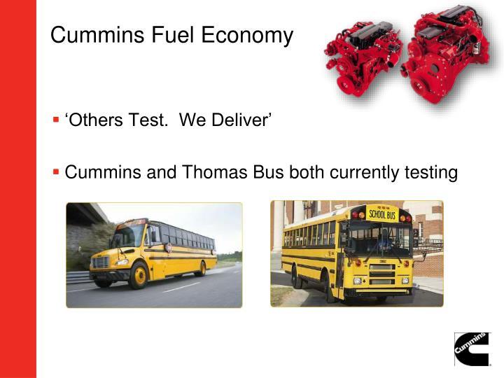 Cummins Fuel Economy